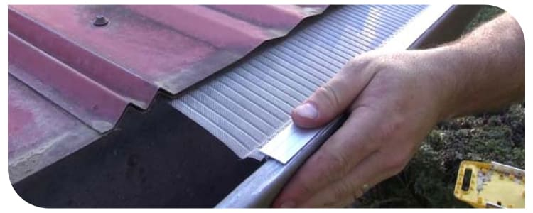Best Install Gutter Guards On Metal Roof
